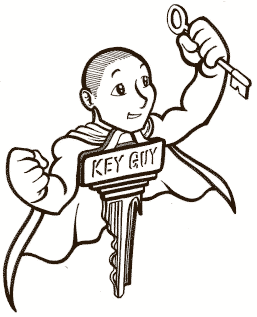 The Key Guy Button